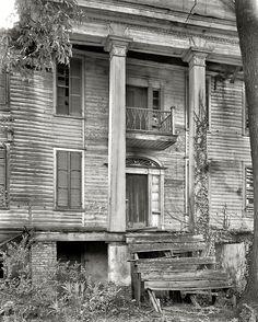 Abandoned house, Penfield vicinity. Greene County, Georgia, circa 1936  Vieilles Maisons, f16b33adb89