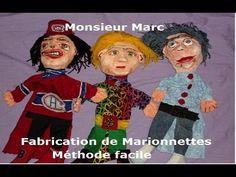 Fabrication de marionnettes avec Monsieur Marc - YouTube
