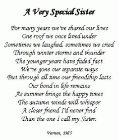 Best Quotes Happy Birthday Sister Love You Ideas Birthday Poems, Sister Birthday Quotes, 80 Birthday, Sister Sayings, Little Sister Quotes, Funny Sister Poems, Beautiful Sister Quotes, Birthday Cakes, Cute Sister Quotes