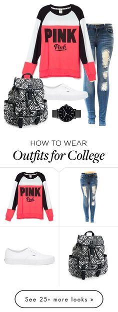 """Untitled #891"" by shocker44 on Polyvore featuring Victoria's Secret, Vans, Aéropostale and The Horse:"