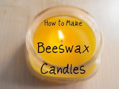 DIY: How to Make Beeswax Candles