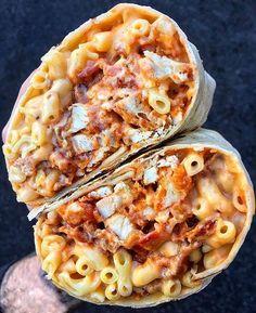 I want to live in the mountains. — yummyfoooooood: BBQ Chicken & Mac and Cheese...
