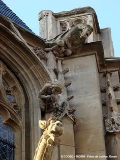 Rouen - La restauration du Palais de Justice a mis à jour des merveilles que la crasse qui le recouvrait rendait invisibles…