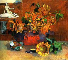 Still Life Sunflowers - Paul Gauguin