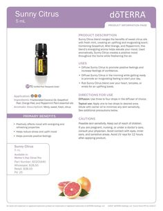 Mothers Day Trio: Sunny Citrus  my.doterra.com/marymcmurrin