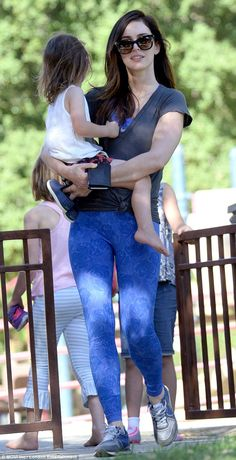 Megan Fox dotes over son Noah on playdate at the park | Daily Mail Online