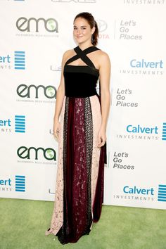 Actress Shailene Woodley attends the Environmental Media Association 26th Annual EMA Awards Presented By Toyota, Lexus And Calvert at Warner Bros. Studios on October 22, 2016 in Burbank, California.