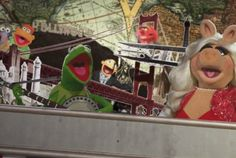 Kermit and Miss Piggy stopped by to talk Muppet history.  20 Facts About The Muppets (Featuring The Muppets!) | Mental Floss