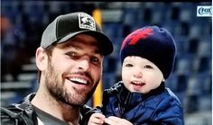 Mike Fisher & son Isaiah