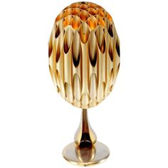 Morel Lamp Attributed to Maison Charles | From a unique collection of antique and modern table lamps at http://www.1stdibs.com/furniture/lighting/table-lamps/