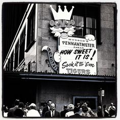 Photo by detroitfreepress when the Detroit Tigers won it in 1968.