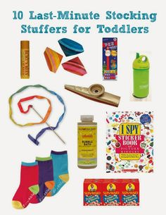 10 Last-Minute Stocking Stuffers for Toddlers