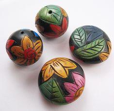 Vivid Flora Bead Set | Flickr - Photo Sharing!