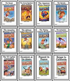 Flat Stanley's Worldwide Adventures COLLECTION : 12 Novel Studies / Comprehension from McMarie on TeachersNotebook.com -  (305 pages)  - This Flat Stanley's Worldwide Adventures COLLECTION contains 12 Novel Studies from the Flat Stanley's Worldwide Adventures series based on Flat Stanley by Jeff Brown. In total, there are 300+ pages.