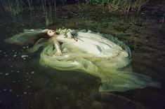 """fairytalemood:  """"Ophelia"""" by Voodica (Marta Ciosek)"""