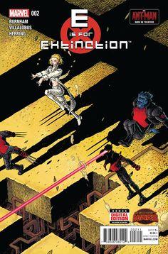 Preview: E is for Extinction #2, E is for Extinction #2 Story: Chris Burnham Art: Ramon Villalobos Covers: Ian Bertram & Ramon Villalobos Publisher: Marvel Publication Da..., #All-Comic #All-ComicPreviews #ChrisBurnham #Comics #EISFOREXTINCTION #ianbertram #Marvel #Previews #RamonVillalobos