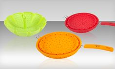 Groupon - $ 13.99 for a Core Kitchen Silicone Strainer and Steamer Set ($ 50 List Price). Free Returns.. Groupon deal price: $13.99