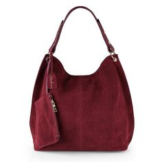 e1cf3adc54f3 Nico Louise Women Real Split Suede Leather Hobo Bag Design Female Leisure  Large Shoulder Bags With Wallet Travel Casual Handbag