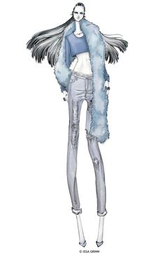 ISSA GRIMM: fashion illustration #fashiondesign #fashionillustration