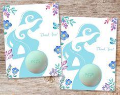 Favorece el EOS Baby Shower  para imprimir etiquetas a Favor