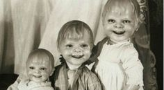 A horrifying collection of scary vintage dolls that will make your flesh crawl