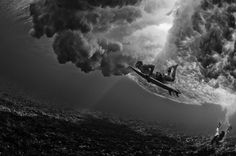 I want to take and have underwater b & w surf pictures! Under The Water, Under The Sea, Blog Art, Surfing Photos, Underwater Pictures, Modern Metropolis, Underwater Photography, Film Photography, Creative Photography