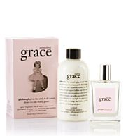 Love Philosophy products and I love the Amazing Grace line! They have the neatest sayings on all their products