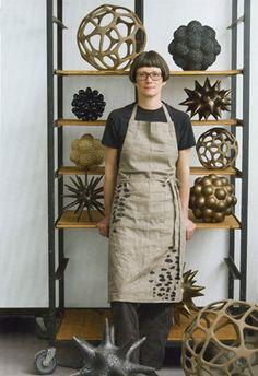 Best Ceramics Tips : – Picture : – Description ceramist, Pamela Sunday. Her ceramics are inspired by the microscopic shapes found in nature. Ceramic Clay, Ceramic Pottery, Pottery Art, Ceramic Decor, Sculptures Céramiques, Sculpture Art, Ceramic Sculptures, Kintsugi, Contemporary Ceramics