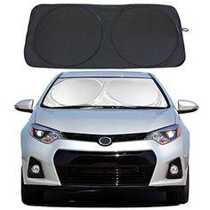 Animal Texas Longhorn Car Windshield Sun Shade Window Sunshade Keeps Vehicle Cool Universal for Car,SUV,Trucks Block UV and Heat