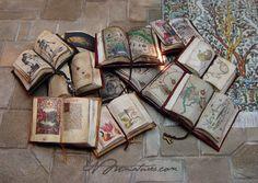 Beauriful Miniature Open Books by Ericka VanHorn