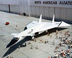 North American XB-70A Valkyrie 1964-65 (paramphalon)