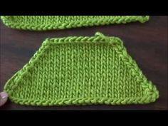 Dos agujas: disminuyendo puntos Irish Crochet, Knit Crochet, Bind Off, Knitting Videos, Chrochet, Crochet For Kids, Knit Patterns, Crochet Projects, Couture