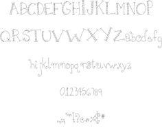 MTF Girlie font
