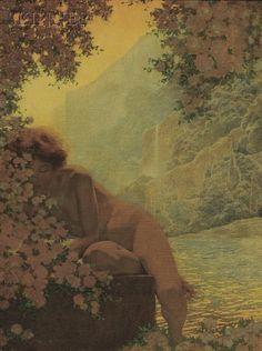 Cardinal Archbishop Sat on His Shaded Balcony - Maxfield Parrish - WikiArt.org