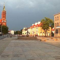 City Center, Bialystok, Poland