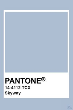 Let's pin pantone Skyway today x Paleta Pantone, Pantone Tcx, Pantone Swatches, Color Swatches, Pastel Colors, Paint Colors, Colours, Pastel Blue, Pantone Colour Palettes