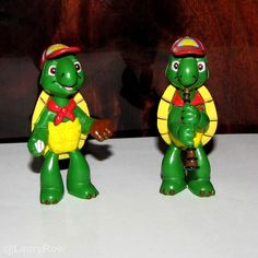 #figurines #toy #cartoon #turtle #franklin  @LauryRow ♥  Like my page here ::  https://www.facebook.com/pages/Disneycollecbell/603653689716325
