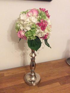 DIY mit Steckschwamm rund Vase, Home Decor, Round Round, Decoration Home, Room Decor, Jars, Vases, Interior Decorating, Jar