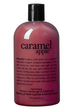 philosophy caramel apple body wash
