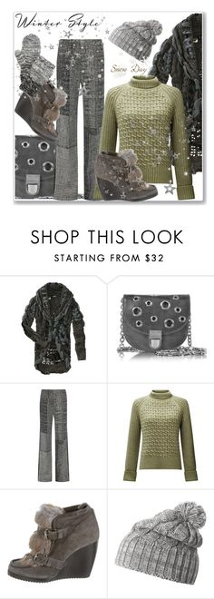 """""""Winter day"""" by hani-bgd ❤ liked on Polyvore featuring Desigual, Jason Wu, Somerset by Alice Temperley, Pierre Hardy, Helly Hansen, Rebecca Minkoff, Winter and winteressentials"""