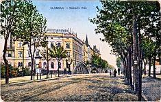 Historická pohlednice s podobou mostu z 19. století. A ty stromy...