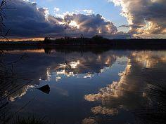 Il lago di Alviano (TR) - Foto di Antonella Giubbini