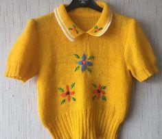 vintage 1940s jumper s-m
