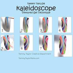 Tutorial Step-by-Step by Tammy Taylor: Kaleidoscope.
