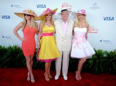 I'm in love with the dress Bridget Marquardt wore to the 2008 Kentucky Derby! #fashion #style #dresses