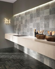 MAKU #tiles Collection evokes the timeless allure of natural stone in warm and soft shades being the ideal solution for creating an appealing setting with a touch of contemporary elegance.