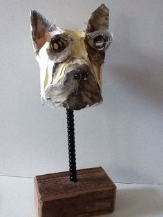 Dog sculpture #3