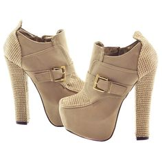 Grey Stitched Fabric Faux Suede Booties | Sexyback Boutique
