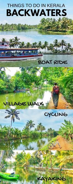 kerala india travel destinations in south asia. places to visit in india. things to do. backpacking south asia travel tips. mumbai to goa to kerala Kerala Travel, Kerala Tourism, India Travel, Thailand Travel, Tourist Places, Places To Travel, Travel Destinations, Travel Tips, Holiday Destinations
