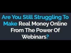 Webinar Master Review and Bonuses  Webinar Master Review and Bonuses Download Webinar Master with HUGE BONUS : http://ift.tt/2j2pw9S Webinar Master Review and Bonus by Craig Richards and Radu Hahaianu - Finally Revealed The Secret Formula To Sell On Webin